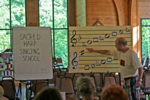 David Ivey teaching the rudiments