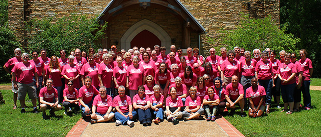 Adult Camp Group Photo