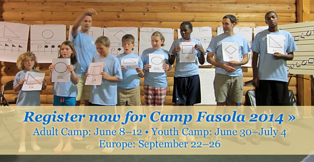 Register for Camp Fasola 2014!